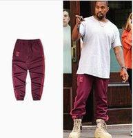 Wholesale Classic Trousers For Men - Spring Print Kanye Pants Jogger For Men Hip Hop Classic Skateboards Casual Season 4 Sweatpants Trousers XXXL