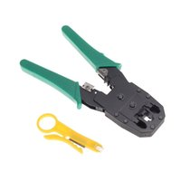 Wholesale New RJ45 RJ11 RJ12 Network Cable Crimper Tool Stripper