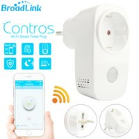 Wholesale Original Broadlink Portable Power Timer EU US Mini Wifi Socket Plug Outlet Adapter Smart Remote Wireless Controls for Iphone Ipad Android