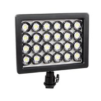 Wholesale High Quality Dimmable Led Lights - W24 LED Video Light Lamp Dimmable Lighting for Canon Nikon Pentax DSLR High Quality Free shipping