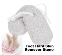 Wholesale Hard Skin Removers - Best Price 600pcs Strong Skin Foot Clean Scruber Scrub Pumice Stone Hard Skin Remover Pedicure W1130