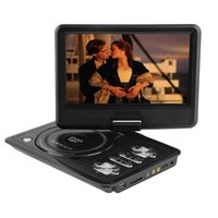 Wholesale Used Dvd Player - Wholesale- 2016 Newest portable 7 Inch DVD player with rotatable screen, game and TV function, use at home, car, support CD player, MP3 MP4