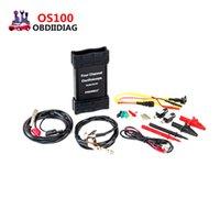 Wholesale Oscilloscope Automotive Usb - Foxwell OS100 Four Channel Automotive Measurement Oscilloscope Supports Petrol Diesel cars Automatic Measurement Tool