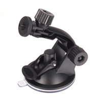 Wholesale car webcams - Wholesale- Universal Mini Windshield Car Window Suction Cup Mount Holder Flexible Tripod Stand DV GPS Webcam Camera Recorder Video