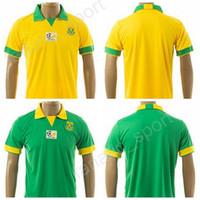 Wholesale National Africa - 2017 18 Thai South Africa Jersey Custom National Team Soccer 14 BOOTH Football Shirt Uniform 20 KHUMALO 9 MPHELA 8 TSHABALALA 10 PIENAAR