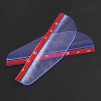 Wholesale Rearview Mirror Lexus - 2pcs Car Rearview Mirror Rain Rainproof eyebrow cover For Lexus GS350 LX570 RX450h ES350 IS250
