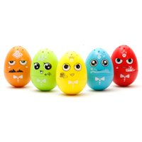 Wholesale Wholesale Music Eggs - Kawaii MINI LED Hand Spinner Green Egg Fidget Glow in The Dark Fidget Spinners Gyro Roly-poly Toy Cute Music Star Gifts for Kids