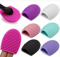 Wholesale gloves prices - Factory Price good service Makeup Brush Cleaner Silicone Finger Glove Cleaning Tool for Cosmetic Makeup Make-Up Brushes