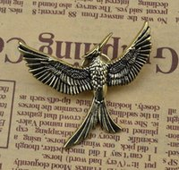 Wholesale Hunger Games Figures - Fashion Retro antique bronze hunger game bird brooch men and women in the same paragraph