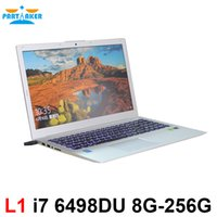 Wholesale laptops 15 inch china resale online - Partaker Latest L1 Inch I7 DU G Discrete Graphics Notebook Laptop Computer In China