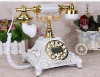 Wholesale Old Style Telephones - Decoration Arts crafts home old European style ancient home phone manufacturers selling Telephone Phone creative
