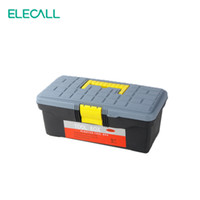 Wholesale ELECALL inch Mini Plastic Tool Box Storage Box Portable Box For Screwdriver Utility Knife Tape Measurer Tweezers