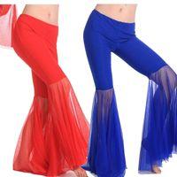 vêtements de danseuses du ventre achat en gros de-Femme Bollywood Pantalons Femmes Ventre Danse Pantalon De Danse Triba Pantl Costumes De Danse Du Ventre Professionnels Inde Bellydance Égypte Pantalon Vêtements