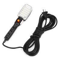 LED Car Truck Rechargeable Work Repair Light avec crochet suspendu Base magnétique Auto Inspection Maintenance Lampe Lampe de poche de garage