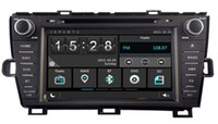 Wholesale Dvd Player For Prius - Navirider car dvd player for Toyota Prius audio headunit wince6.0 2 core 256MB Capactive touch 1080P DVR 3G WIFI TPMS GPS radio