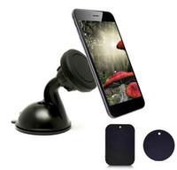 montagem de copo de sucção de telefone celular venda por atacado-Suporte de Sucção Do Carro Gel de Sucção Sucção Magnética com Super Forte Ventosa de 360 Graus de Rotação para o Telefone Celular Windshield Dashboard Mount