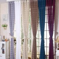 Wholesale Hanging Screen Curtain - New Arrival Linen Lattice Curtain Window Screen Gauze Vertical Hanging Simple Stylish Living Room Decorative Curtains Multi Colors #gauze