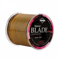 Wholesale Fish Line Nylon - Blade Series 500M Nylon Fishing Line Multi Color Monofilament Mono Nylon Line Japan Material 8-25LB Fish line