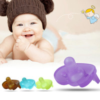 Wholesale Baby Funny Nipples - Wholesale-Healthy Silicone Funny Baby Pacifier Dummy Nipple Teethers Toddler Pacy Orthodontic Teat Infant Baby Christmas Gift 1pc