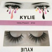Wholesale Models Hair Extensions - Hot Kylie Cosmetic Kylie False Eyelashes 20 Model 3D Eyelash Extensions Handmade Natural Long Fake Lashes