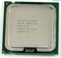 Wholesale Lga 775 Core Duo - E6850 Original Desktop for Intel Core 2 Duo Cpu E6850 3.0GHz 4MB 1333MHz For LGA 775 wholesale and retail Free Shipping