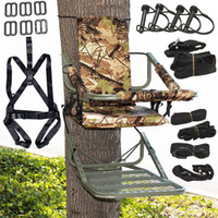 Tree Stand Climber Escalade Hunting <b>Deer Bow</b> Game Hunt Chaise de chasse portable HD