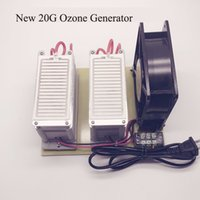 Wholesale ozone generator free shipping - Wholesale- 20G Portable Ozone Generator Air Purification Efficient Long Life Deodorization for Household 110 or 220V Free Shipping
