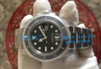 Wholesale Top Waterproof Watches - Top Noob Factory V7 Version Mens Automatic 116610LN Watch Men Ceramic Bezel Dial Valjoux Eta 2836 Luminous Dive Sport Waterproof Watches