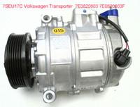 Wholesale Vw Air Conditioning Compressor - Direct sale Car air conditioning compressor 7SEU17C VW Transporter T5 Bus 2.5 TDI 2004-2009 7E0820803 7E0820803F