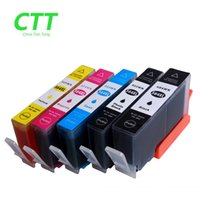 Cartucce d'inchiostro CTT 5PCS 564XL compatibile per HP564 HP 564 564XL stampante hp Photosmart 5510/5511/5512/5514/5515/5520/5522 / 5525/6510