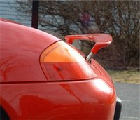 Wholesale FOR BOXSTER RETRACTABLE LIFT REAR WING TRUNK SPOILER