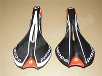 Wholesale Top Mtb Saddle - Top sale good quality 2 models Black design Prologo Road bike MTB carbon Saddle Seat free shipping