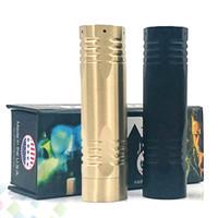 baterias de parafuso venda por atacado-Mais novo Complyfe O Parafuso Mod E Cigarro fit 18650 Bateria Mecânica Mod 2 Cores Latão Material Fit 510 Atomizers DHL Livre