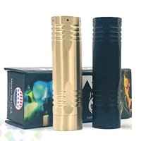 ingrosso batterie-Più nuovo Complyfe The Bolt Mod E Cigarette fit 18650 Batteria Meccanica Mod 2 Colori Ottone Materiale Fit 510 Atomizzatori DHL Libero