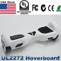 Wholesale Wholesale Electric Scooter Usa - UL2272 Hoverboard USA Stock LED Light Electric Scooters 6.5 Self Balancing Scooter Skateboard Cxinwalk Drifting Board UL2272 CE Hover Board