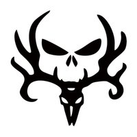 Wholesale Truck Decor Decals - Deer Hunt Hunting Punisher Decal Personality Funny Car Styling Sticker Jdm Truck Car Decal Window Graphics Decor