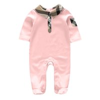 Wholesale Baby Clothing One Piece - autumn Newborn Infant Baby Boy Girls clothes Outfits Cotton baby Romper costume Jumpsuit baby boys clothes One-pieces 0-12moths