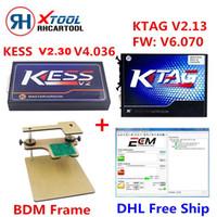 Wholesale New Kess V2 Obd2 - Wholesale- 2017 New KESS V2 V2.30 FW V4.036 OBD2 Manager Tuning Kit Master+ KTAG V6.070 K-TAG V2.13 K TAG ECU Programmer+BDM Frame Adapter