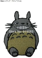 Wholesale Dropship Anime - MY NEIGHBOR TOTORO AppliqueJapanese ANIME TV movie fancy Embroidered sew on iron on patch applique dropship cute patch