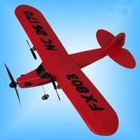 Wholesale Remote Control Planes Kids - Wholesale-RC Plane Electric 2 CH Foam outdoor Remote Control RC Plane 150m Distance Toys For Kids Children Gift