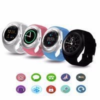 Y1 Smart Watch Orologio rotondo Nano SIM TF con Whatsapp Facebook Fitness Business Smartwatch Per Apple IOS Android