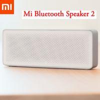 haut-parleur bluetooth box box xiaomi achat en gros de-Vente en gros - Nouvel original Xiaomi Mi Bluetooth Haut-parleur 2 Boîte carrée Stéréo Portable Haute définition haute qualité sonore Bluetooth 4.2 Lecture de musique AUX