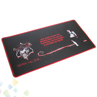 almohadilla de barra al por mayor-Demon Killer Bar Mat 60 * 30 * 0.3CM Rectángulo Cigarrillo electrónico Bar Pad Caucho natural + Multi-spandex DHL de alta calidad
