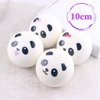 Wholesale Panda Ornament - Simulation of 7cmPU cartoon panda bread fake bread refrigerator Home Furnishing jewelry ornaments sample bread shop