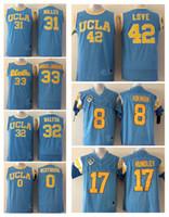 Men Jersey 31 Reggie Miller 33 Kareem Abdul Jabbar 42 Kevin Love 0 Russell  Westbrook 8 Troy Aikman 17 Brett Hundley UCLA Bruins ... aa55cd50f