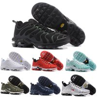 Wholesale Shoes Women Runing - 2017 Max Plus TN Ultra 3M Reflective Women Men Runing Shoes Gold Black White Red Max Tn Runner Sneaker Size US5.5-US12