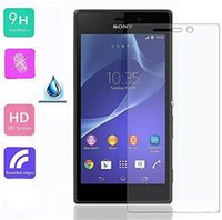 sony Sony Xperia C5 Tempered Glass 2.5D 0.3mm 9H Premium Tempered Glass Screen Protector Protection Guard For Sony Xperia XA X C6 C5 M6 M5 E5 E4 T3 C4 Ultra With Retail-box