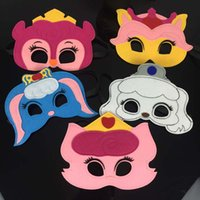 UK palace wedding dress - Halloween cosplay felt mask Palace Pet birthday party favors or dress up masks Hot sale Drop shipping by DHL