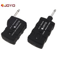 JOYO JW-01 Wireless Digital Bass Guitar Transmisor Receptor 2.4G Audio Stage Transmisor inalámbrico Sistema de receptor