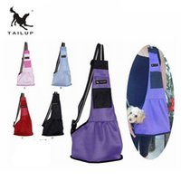 Wholesale Sling Harness - TAILUP new Pet Dog Carrying Bag Mesh Cloth Puppy Chihuahua Yorkies Small Cat Slings Backpack L